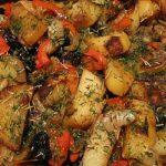 фото картофеля с черносливом и мясом