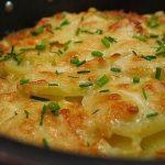 фото картофеля с кефиром в духовке
