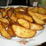 фото классической картошки по деревенски