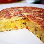 испанский омлет с картофелем фото