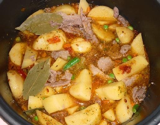 Курица с картошкой с овощами в мультиварке рецепты с фото