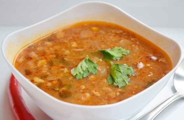 фото готового супа харчо с картофелем