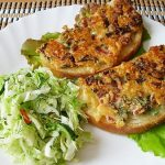 бутерброды с картошкой и колбасой