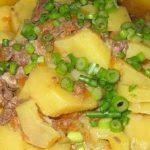 картофель с тушенкой фото