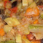 овощное рагу с картофелем и кабачком
