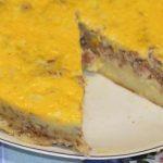 запеканка из картофеля с фаршем и сыром