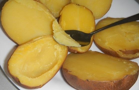 лодочки из картофеля фото