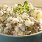 правильный салат из картофеля