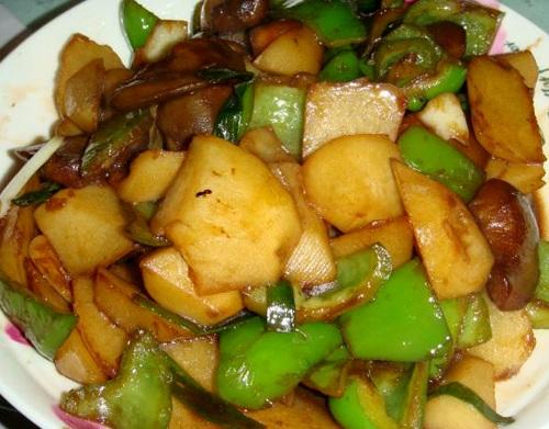 фото баклажанов с картошкой по-китайски