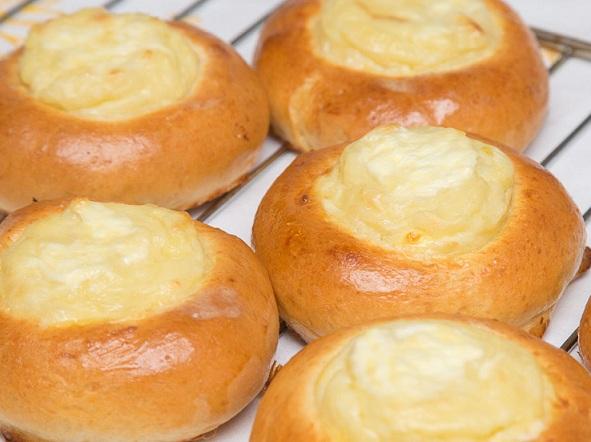 фото готовых картофельных ватрушек
