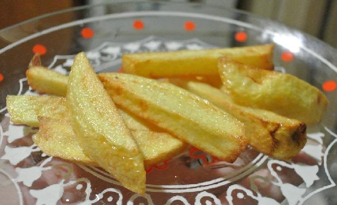 фото готовой картошки фри из микроволновки