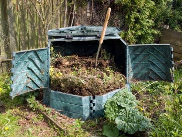 Как сделать компостные кучи