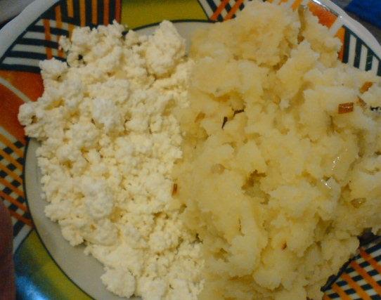 фото начинки для варников из творога и картошки
