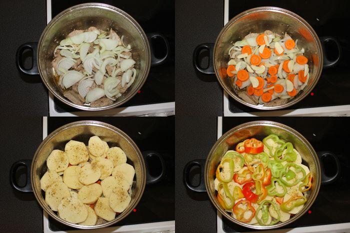 приготовление хашламы с картошкой фото 1