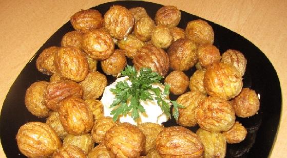 фото картофельных орешков в духовке
