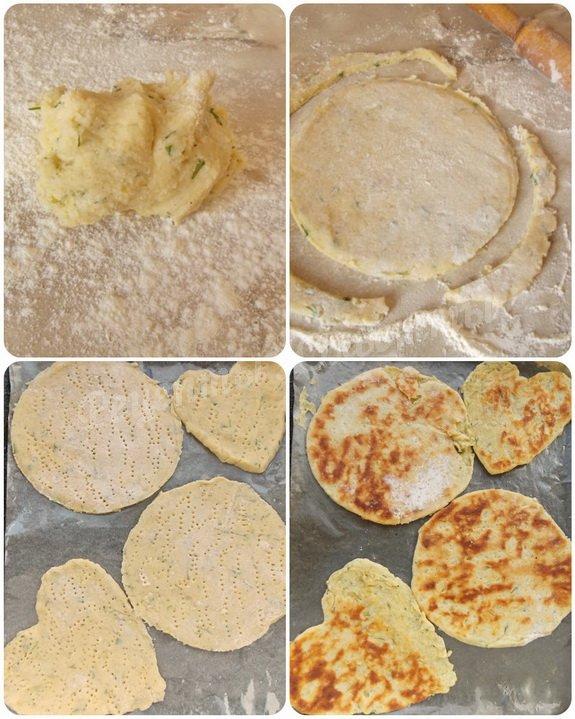 фото приготовления лепешек из картофеля