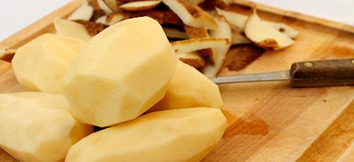 сырая картошка детям