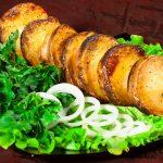 фото картошки на шампурах на мангале без сала