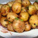фото картофеля в мундирах из микроволновой печи