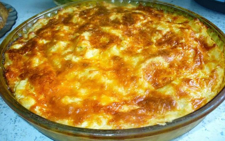 фото картофельного пюре, запеченного в духовке