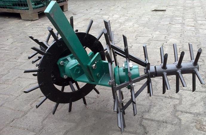 Ротационная борона-ёж фото