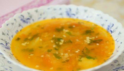 фото картофельного супа с чечевицей