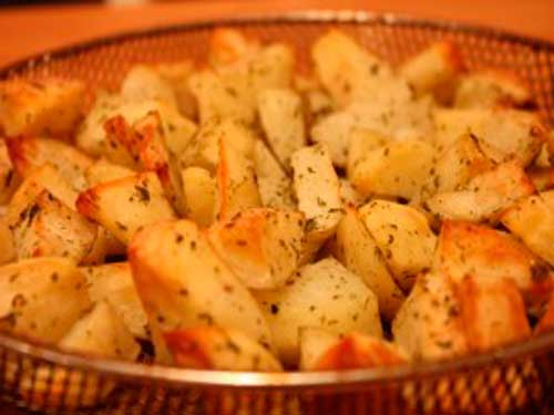 фото жареной картошки в аэрогриле
