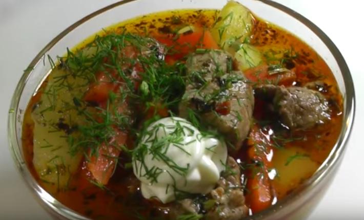 фото картофельного соуса с мясом