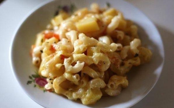 фото смеси картошки с макаронами