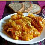 фото тушеной капусты с мясом и картофелем