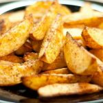 фото хрустещей картошки, запеченной в духовке