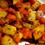 фото запеченной тыквы с картошкой