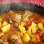 фото мяса и картофеля в казане