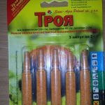 фото препарата Троя для обработки картофеля