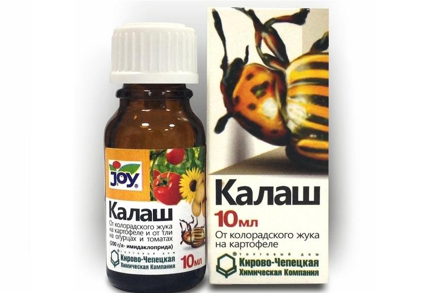 препарат калаш от колорадского жука