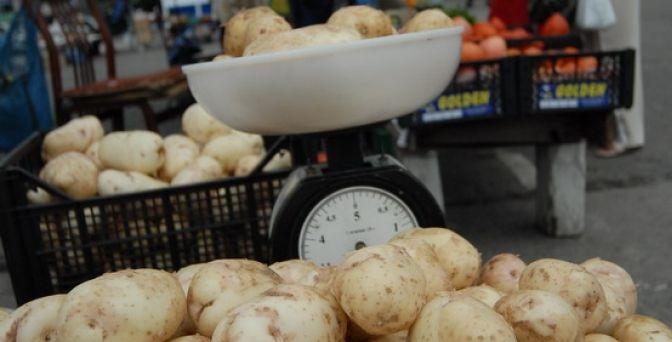 как картошка продается в России