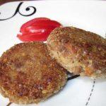 фото котлет из гречневой каши с картофелем
