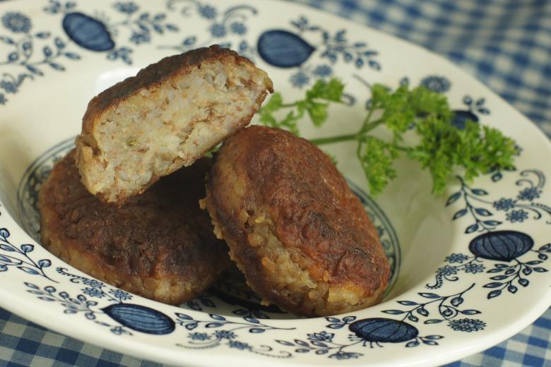 фото котлет из гречки и картошки
