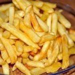 фото картошки фри, приготовленной в белке в духовке