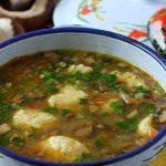 фото супа с картофельными шариками