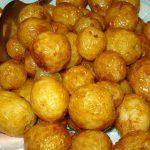 фото молодой картошки, печеной в мультиварке