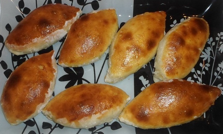 фото печёных пирожков с картошкой в духовке