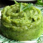 фото пюре из шпината и картошки