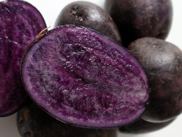 фото сорта картофеля Фиолетовый