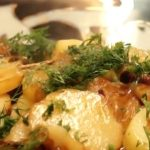 фото жареной картошки с луком