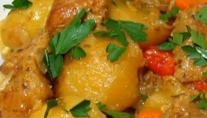 фото мяса с картошкой в рукаве для запекания