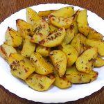 картофель с лимоном фото